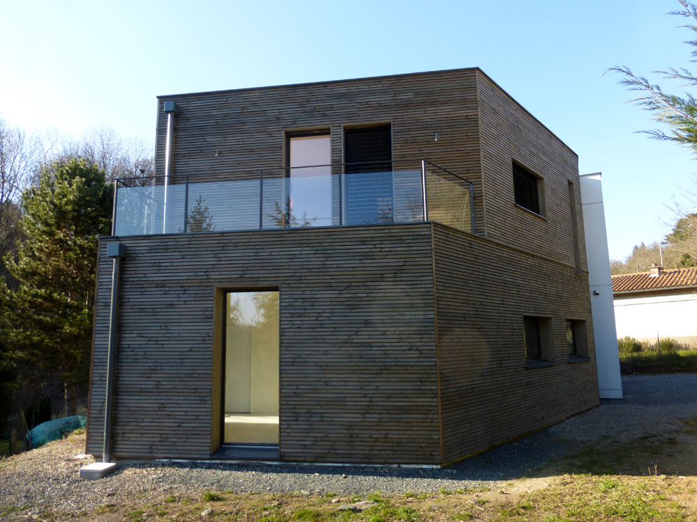 En Travaux Construction D Une Maison Contemporaine