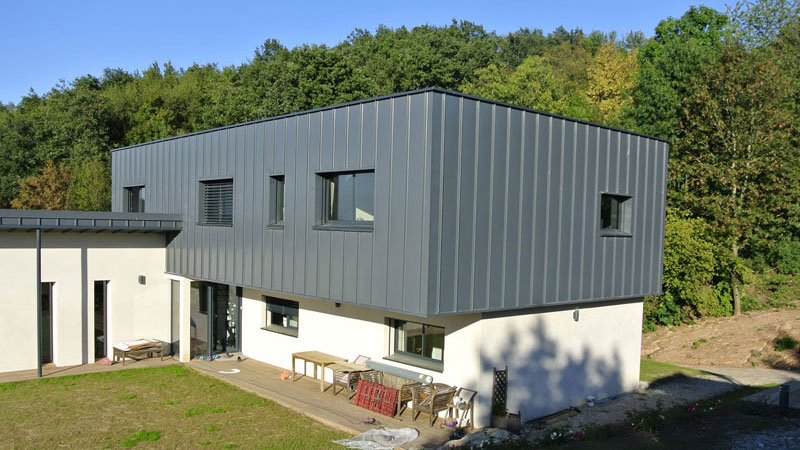 Construction d\'une villa contemporaine à Limonest | Architecte à ...